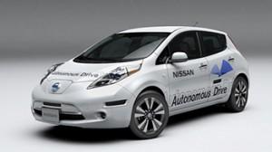 Nissan Autonomous Drive. Руки!