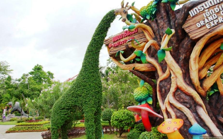 Развлекательный Сиам Парк (Siam Park City) в Бангкоке