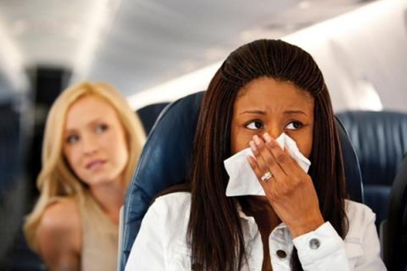 Что делать чтоб не стало плохо в самолете