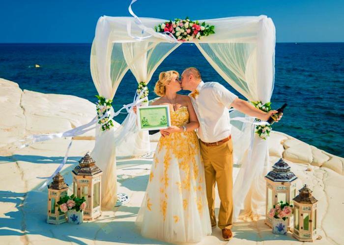 Свадьба мечты на острове Кипре