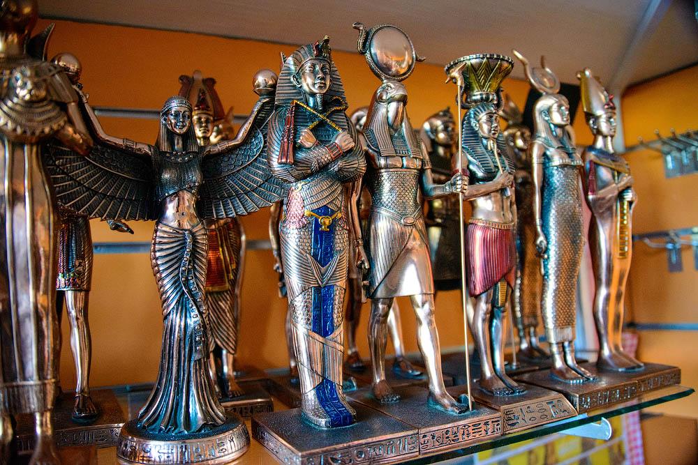 Шопинг и сувениры для путешественников в Египте