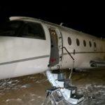 В Лапландии пилота раздавило дверью самолета