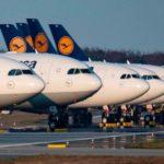 В Германии авиа трафик на 55% ниже, чем в прошлом году