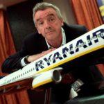 Ryanair выплатит гендиректору бонус в размере 458000 евро