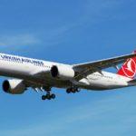 Turkish Airlines использует Airbus A350-900 на внутренних рейсах